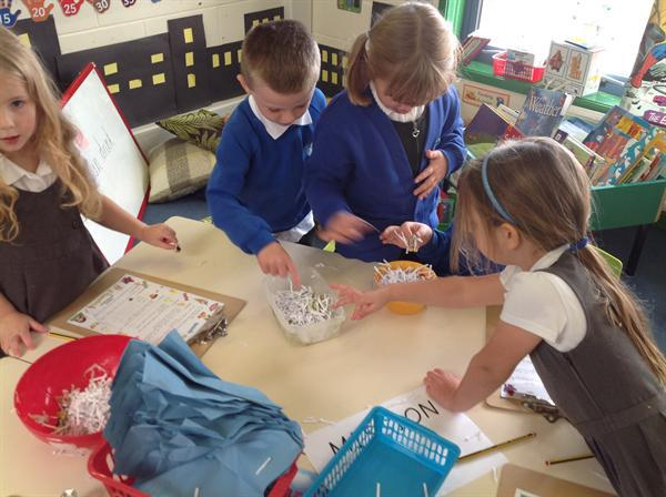 Using our Spidy Senses!