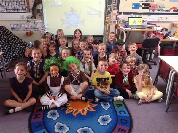 Mrs Heslop's class - Roald Dahl Day