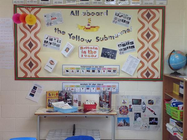 Topic in term 6 'All Aboard the Yellow Submarine""