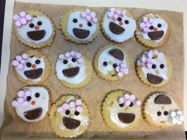 Our Brilliant Bake Off Biscuits!