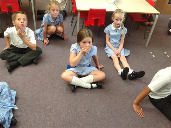 Roleplay to help our writing.