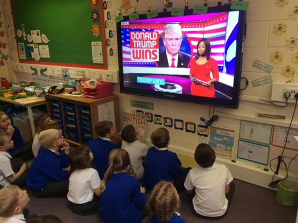 we watched the vote from American presidency