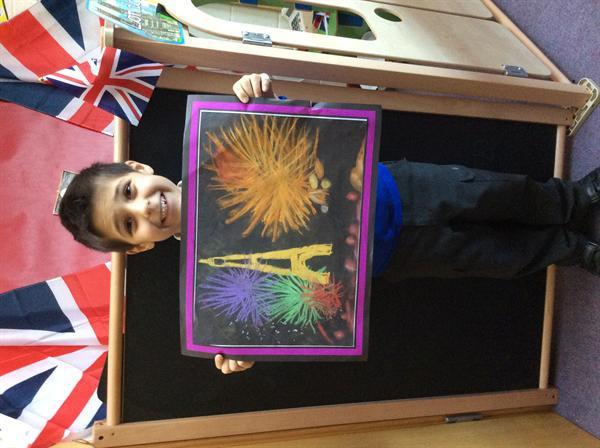 Amazing Firework Art Declan!