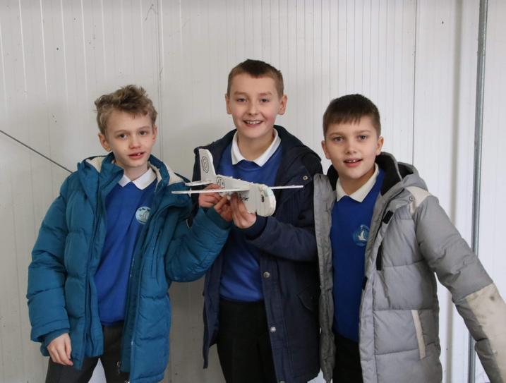 Final glider made