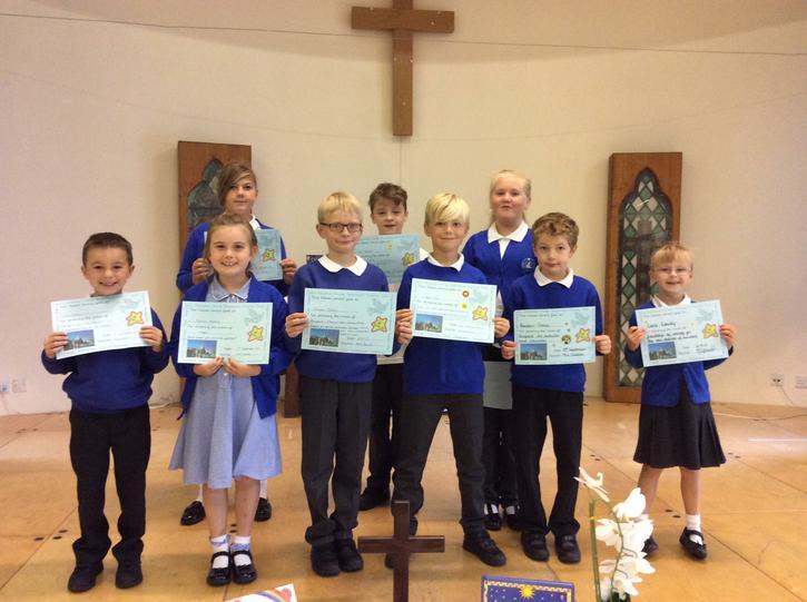Christian Values Award Winners 8.9.17