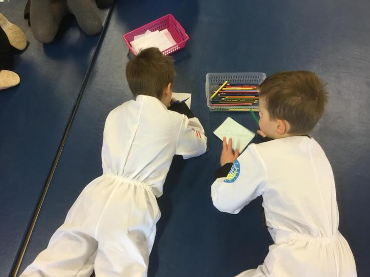 Space Day: Colouring in NASA Badges