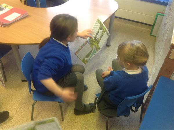 Sharing our information texts with Foundation