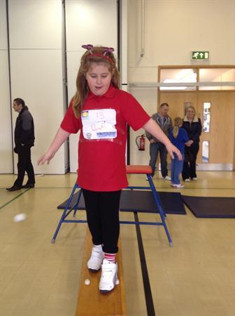 Modern Britain Day - gymnastics