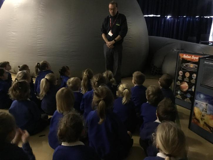 1b visit from the Planetarium!