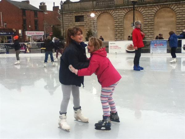 Ice skating!
