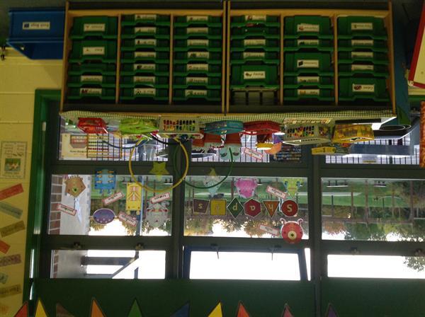 The Y1a classroom