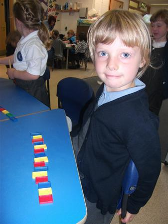 Look at our repeating patterns