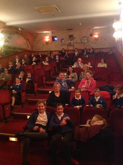 Forces families trip to the Kinema