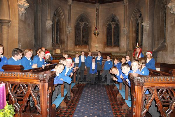 Y5 Cantata at St Botolph's Church