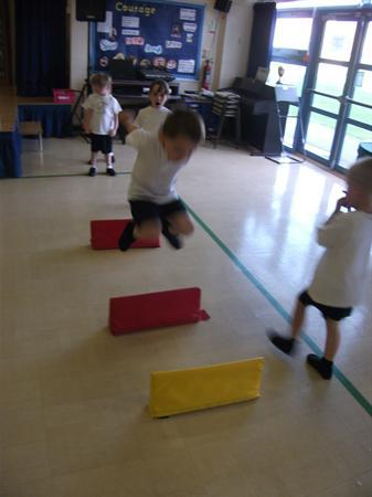 We are great at climbing and jumping!