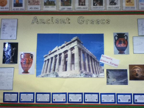 Our topic for spring term 1 is the Groovy Greeks.