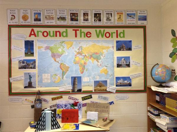 Our topic for Autumn 2 is Around the World