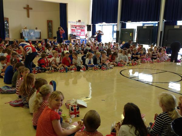 We loved celebrating the Queen's 90th Birthday in