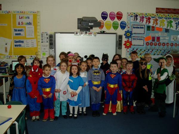 Miss Harris' Superheroes!!