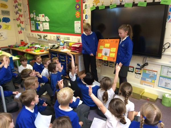 Y5s came and discussed advent with us