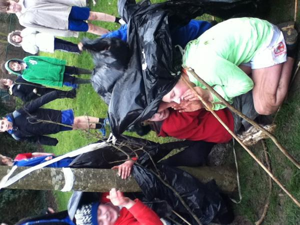 Shelter building, 1066 style!