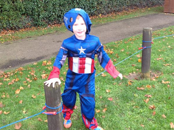 Superhero Obstacle Course