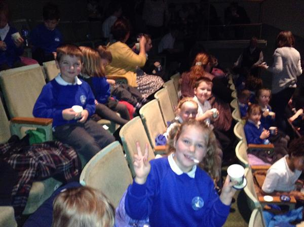 Our trip to the pantomime!