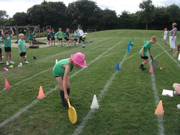 Sports Day - morning session