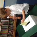 Voting for School Councilors in a Ballot Office!
