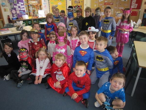 Mrs Beckett's Superheroes!!