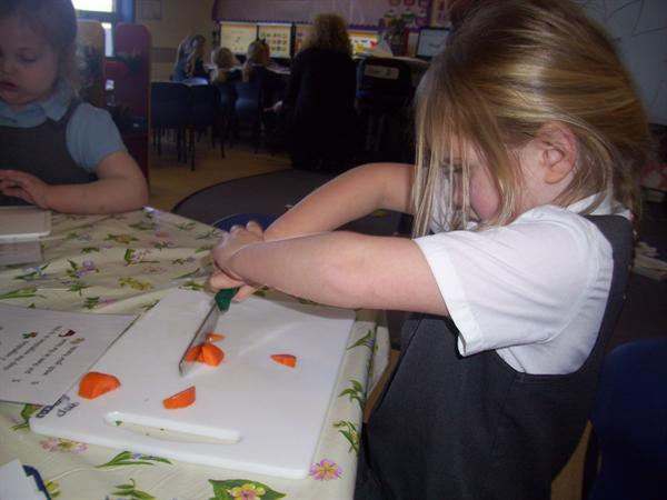 Vegetable chopping