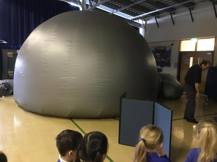 Visit from the Planetarium!