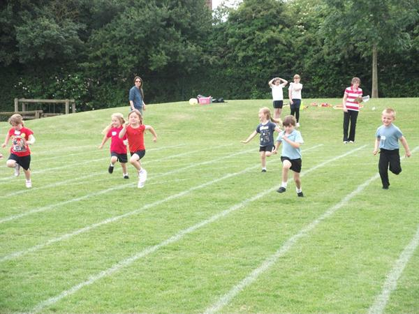 Sports day afternoon