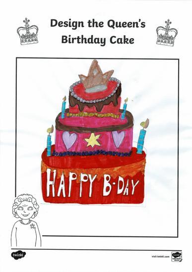 Erin's birthday cake design