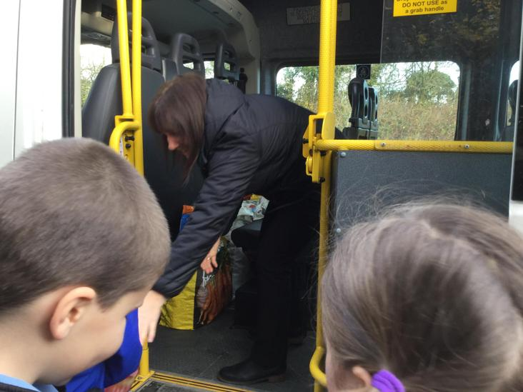Packing the bus