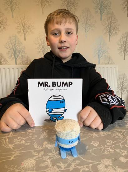 WINNER Alfie- Mr Bump