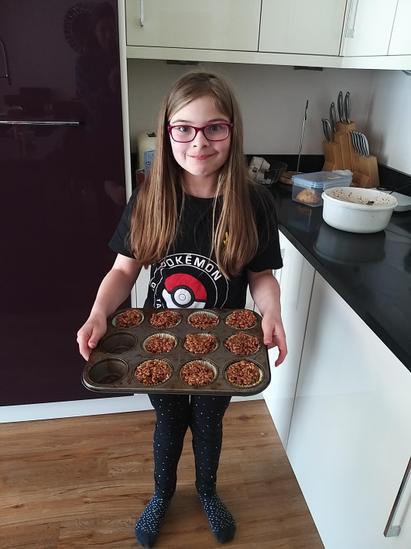 Emilia's 'Maths Crispy Cakes'