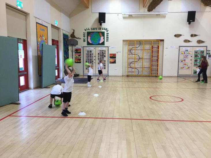 How to do a footballer's throw.