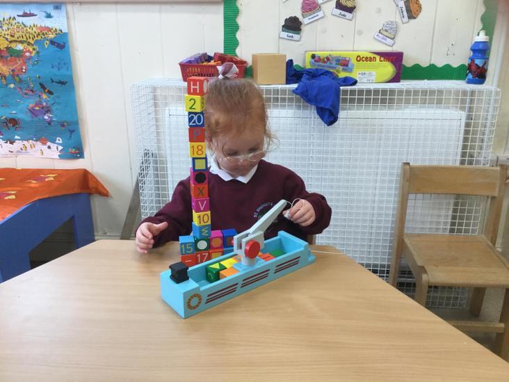 Exploring letters and numbers