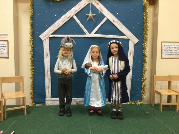 Mary, Joseph and the donkey
