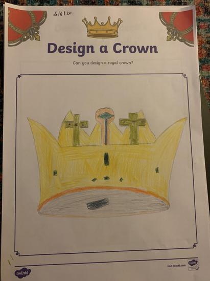 Alfie's crown
