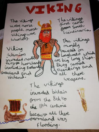 Willow's Viking Poster
