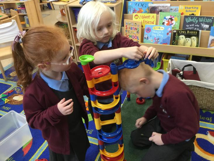 Marble run problem solving