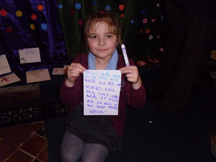 Emilia's prayer.