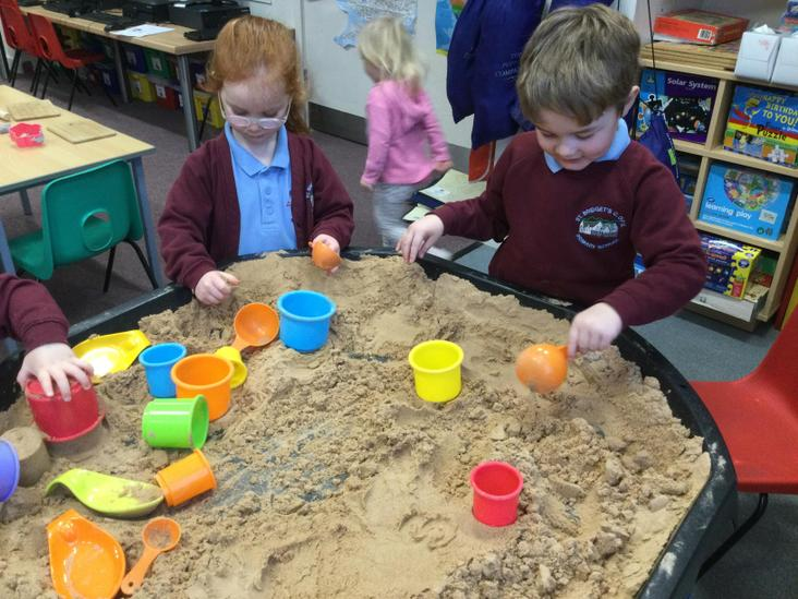 Writing phonemes in the sand
