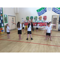 Class 2 get to grips with some new moves