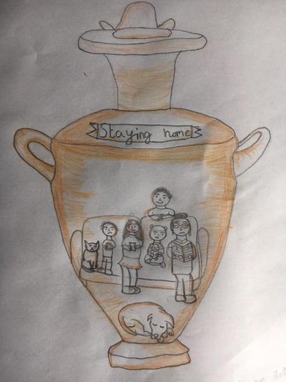 Bella's Greek Pot