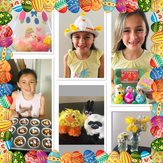 Maddy's Creative Easter Weekend