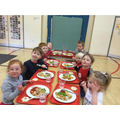 Red Nose day lunch time