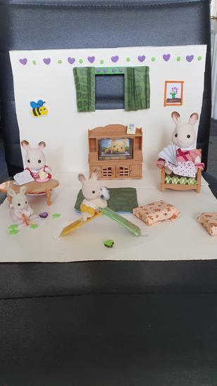 Brooke's Sylvanian Family Playroom